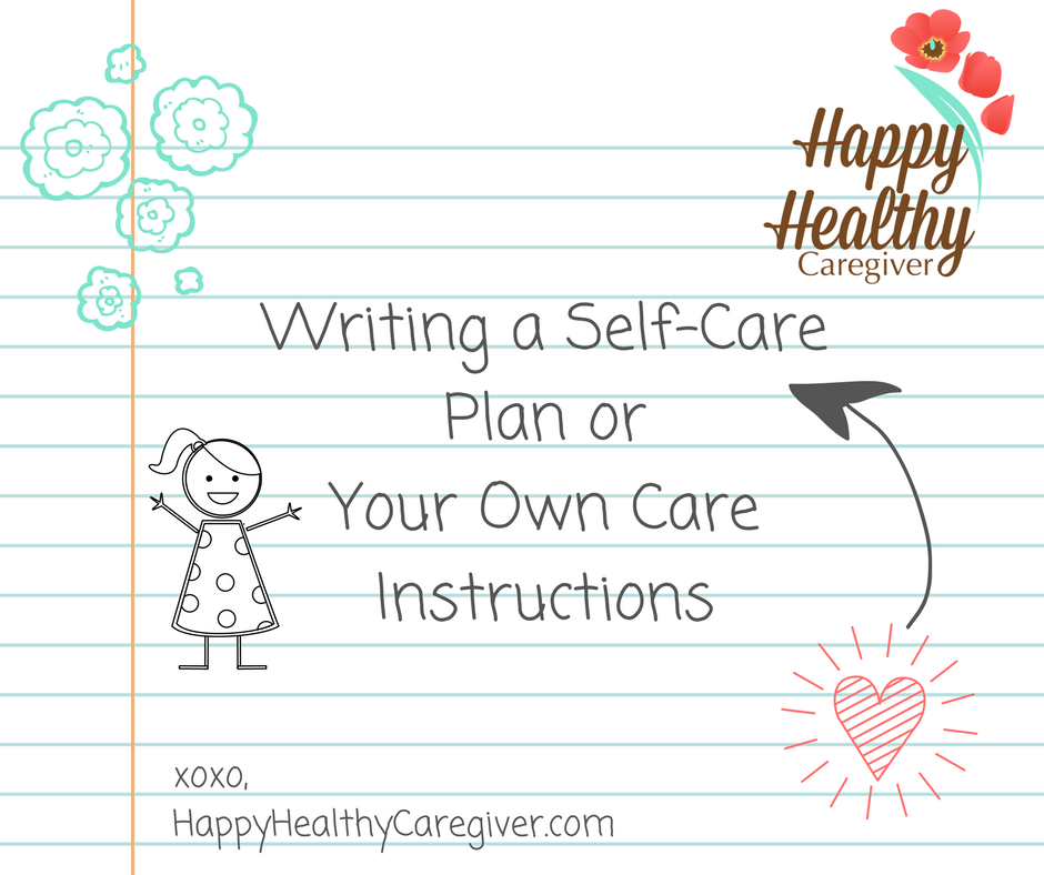 writing a care plan